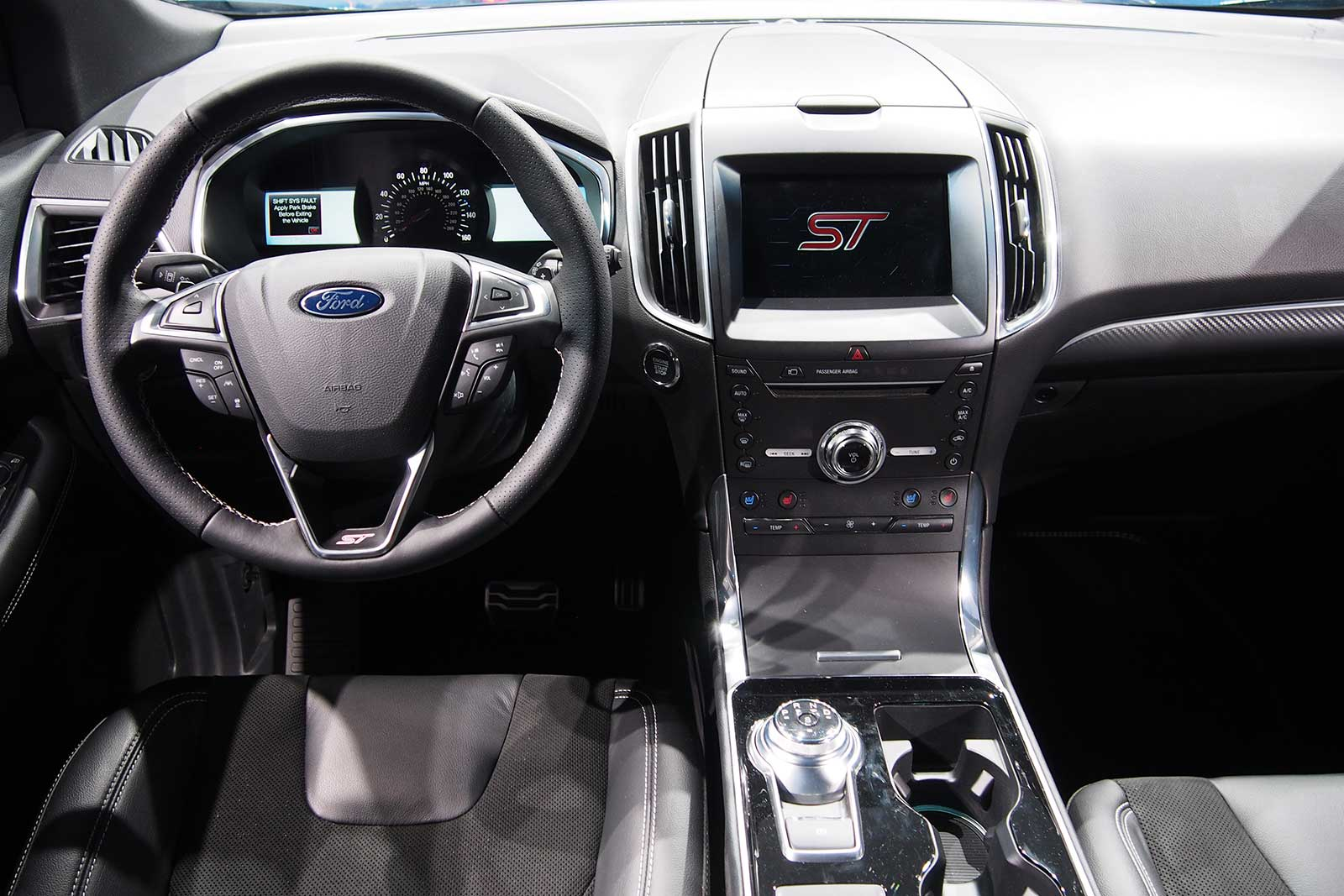 interior of 2019 ford edge used car reviews cars review. Black Bedroom Furniture Sets. Home Design Ideas