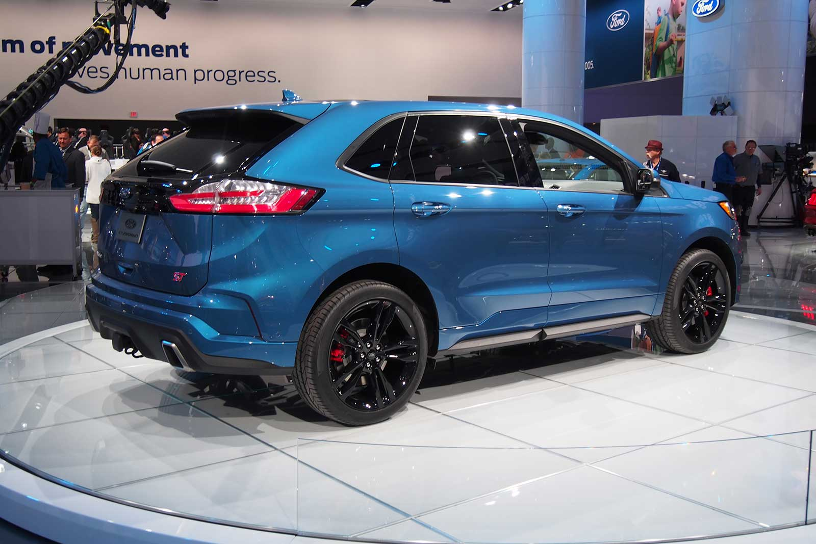 Ford Edge St Added To Refreshed Lineup Autoguide Com News Rh Autoguide Com  Ford Edge St Exterior Colors