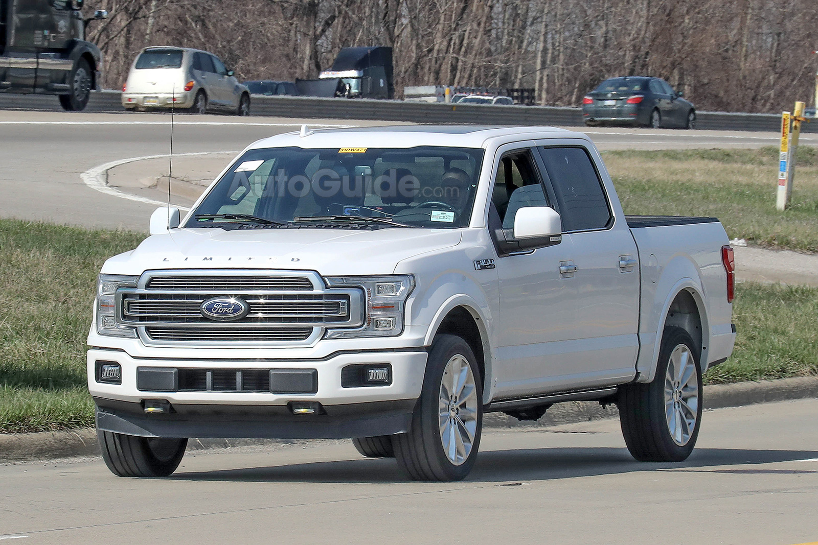2019 ford f 150 limited spy photos 01