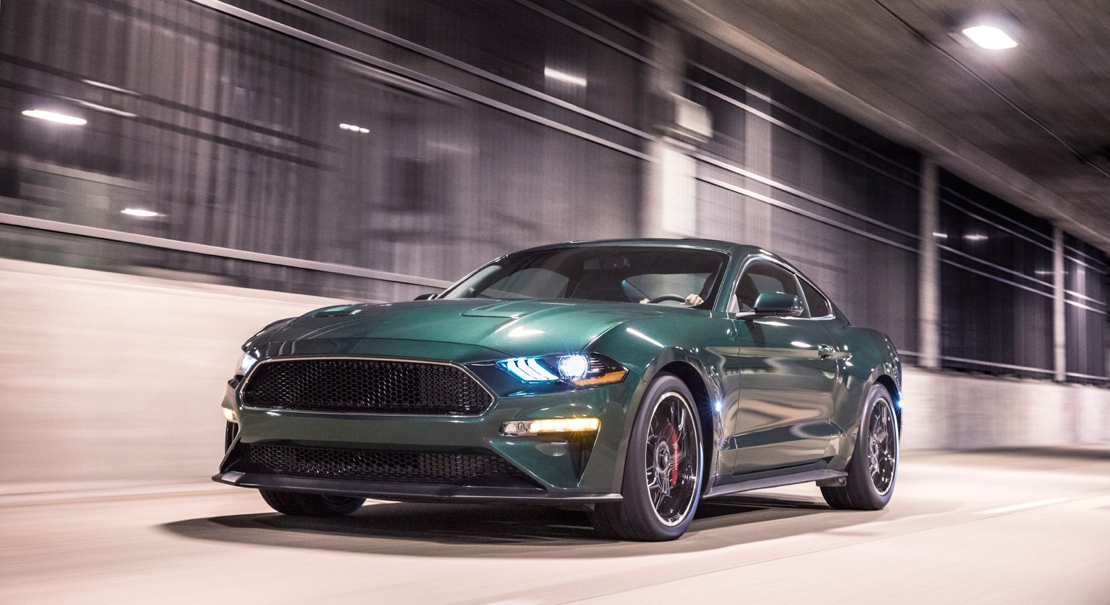 first production 2019 ford mustang bullitt heading to auction news. Black Bedroom Furniture Sets. Home Design Ideas
