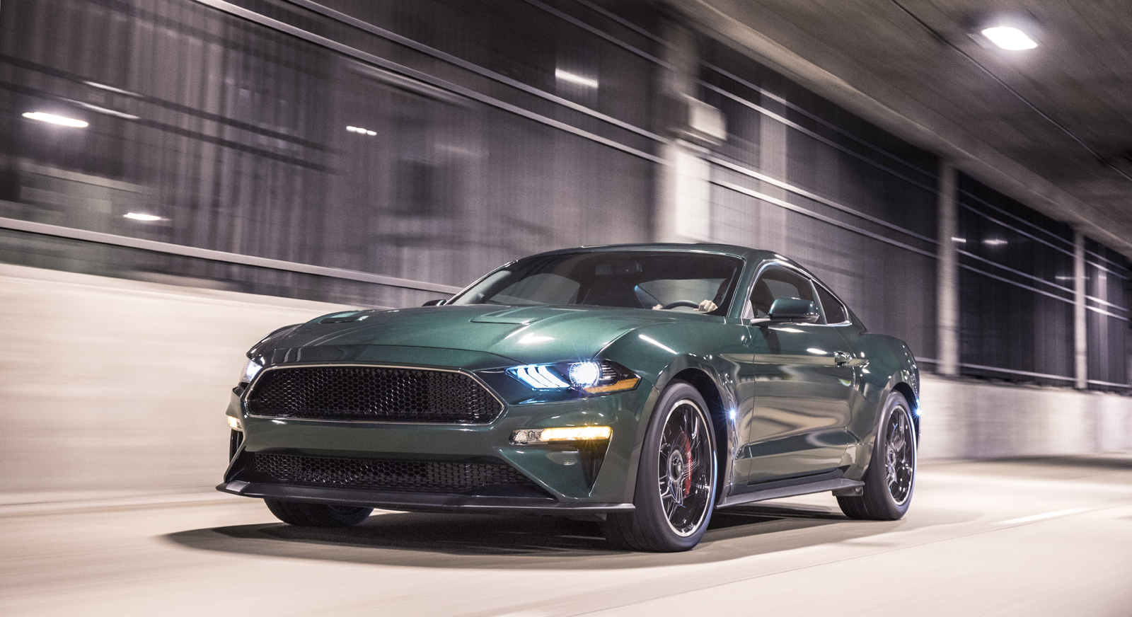 2019 mustang bullitt races into detroit with sinister looks and 475 hp v8 news. Black Bedroom Furniture Sets. Home Design Ideas