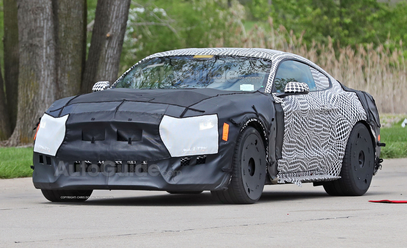 2019 ford mustang gt500 prototype spy photos 03