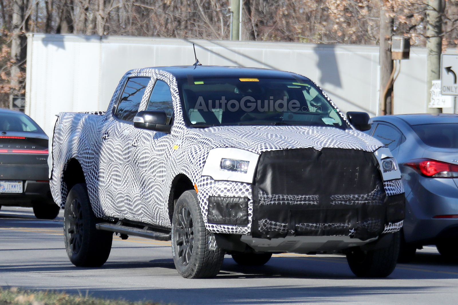 Used Ford Raptor >> 2019 Ford Ranger FX4 Steps Out for the Camera Ahead of Debut » AutoGuide.com News