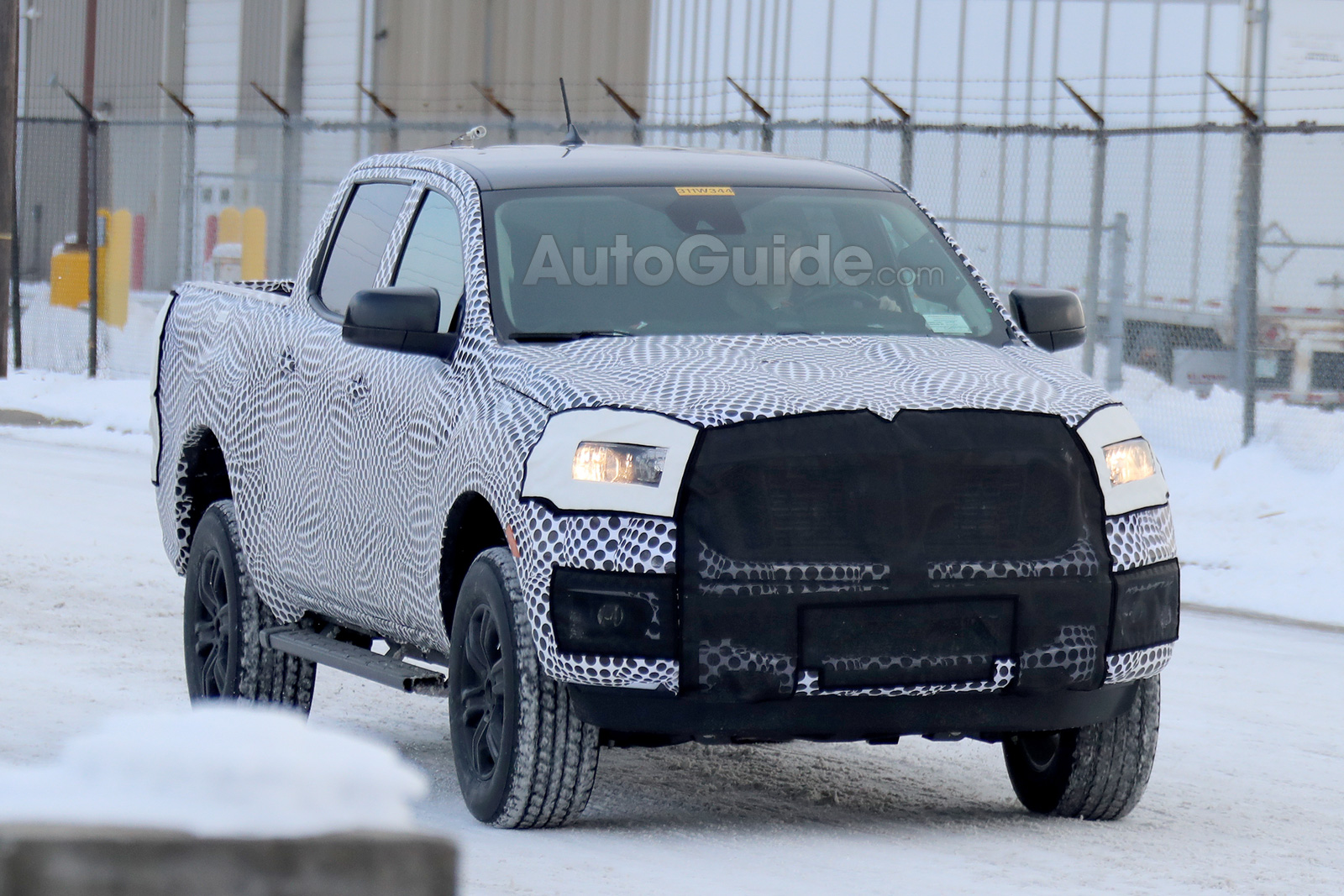 2019 ford ranger xlt spied undergoing winter testing. Black Bedroom Furniture Sets. Home Design Ideas