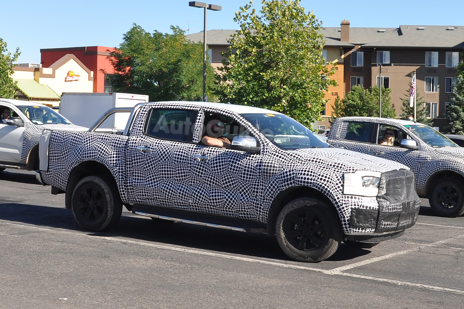 2019 Ford Ranger Wildtrak Spied in the US