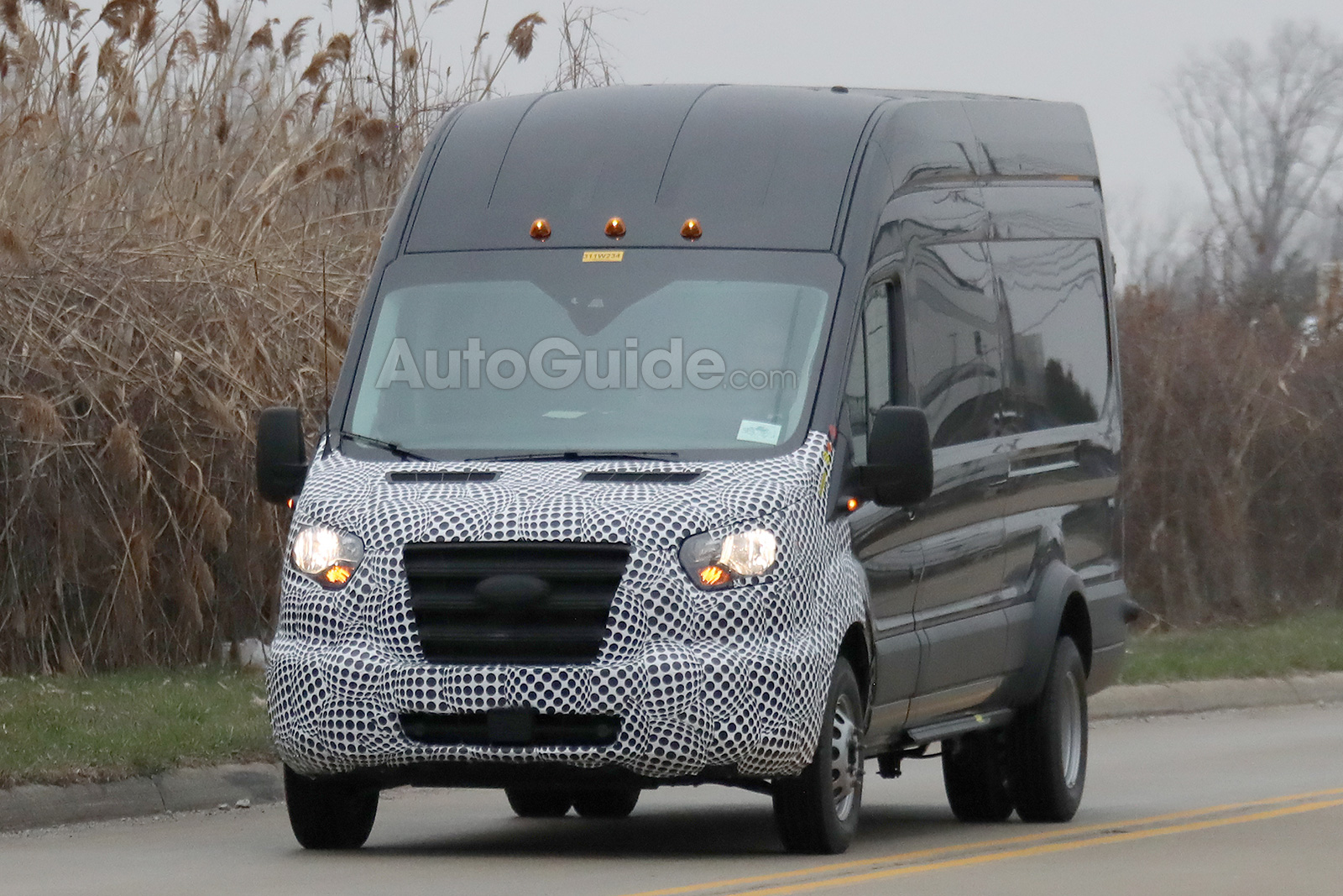 Used Ford Transit Connect >> 2019 Ford Transit Breaks Cover Sporting a Facelift » AutoGuide.com News