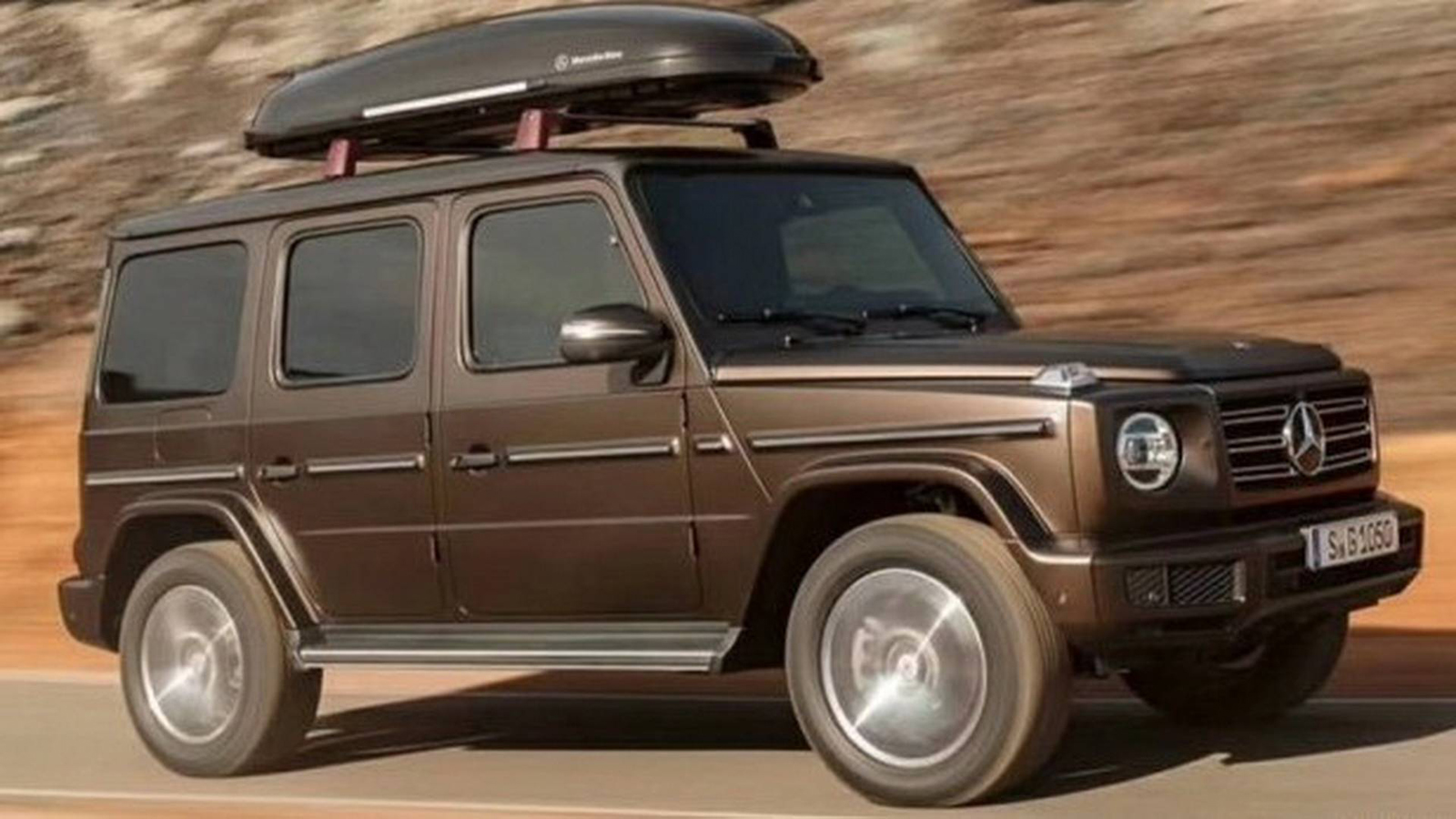 2019 mercedes benz g class leaks in full ahead of debut news. Black Bedroom Furniture Sets. Home Design Ideas
