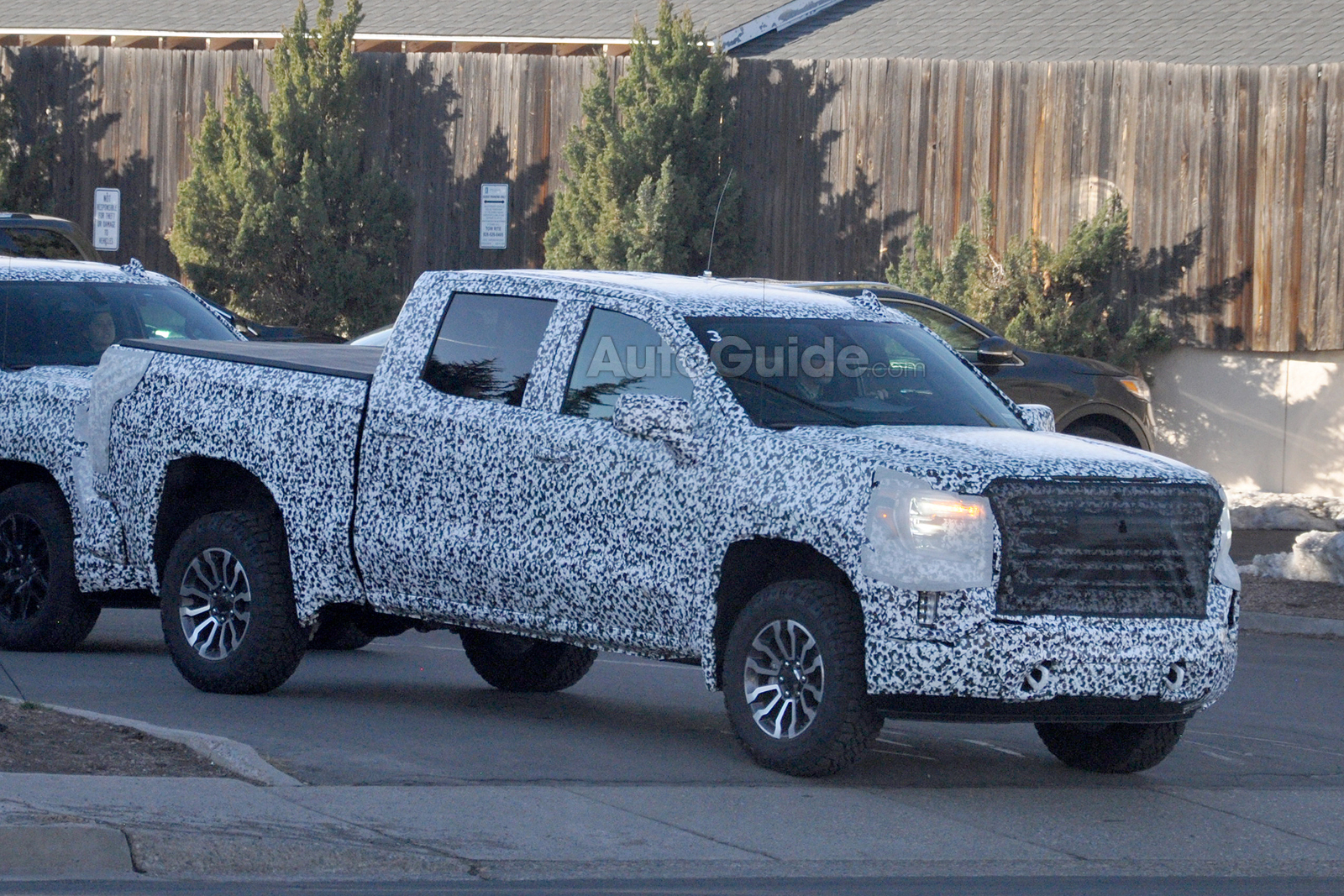 2019 Gmc Sierra All Terrain Spied With Trail Boss