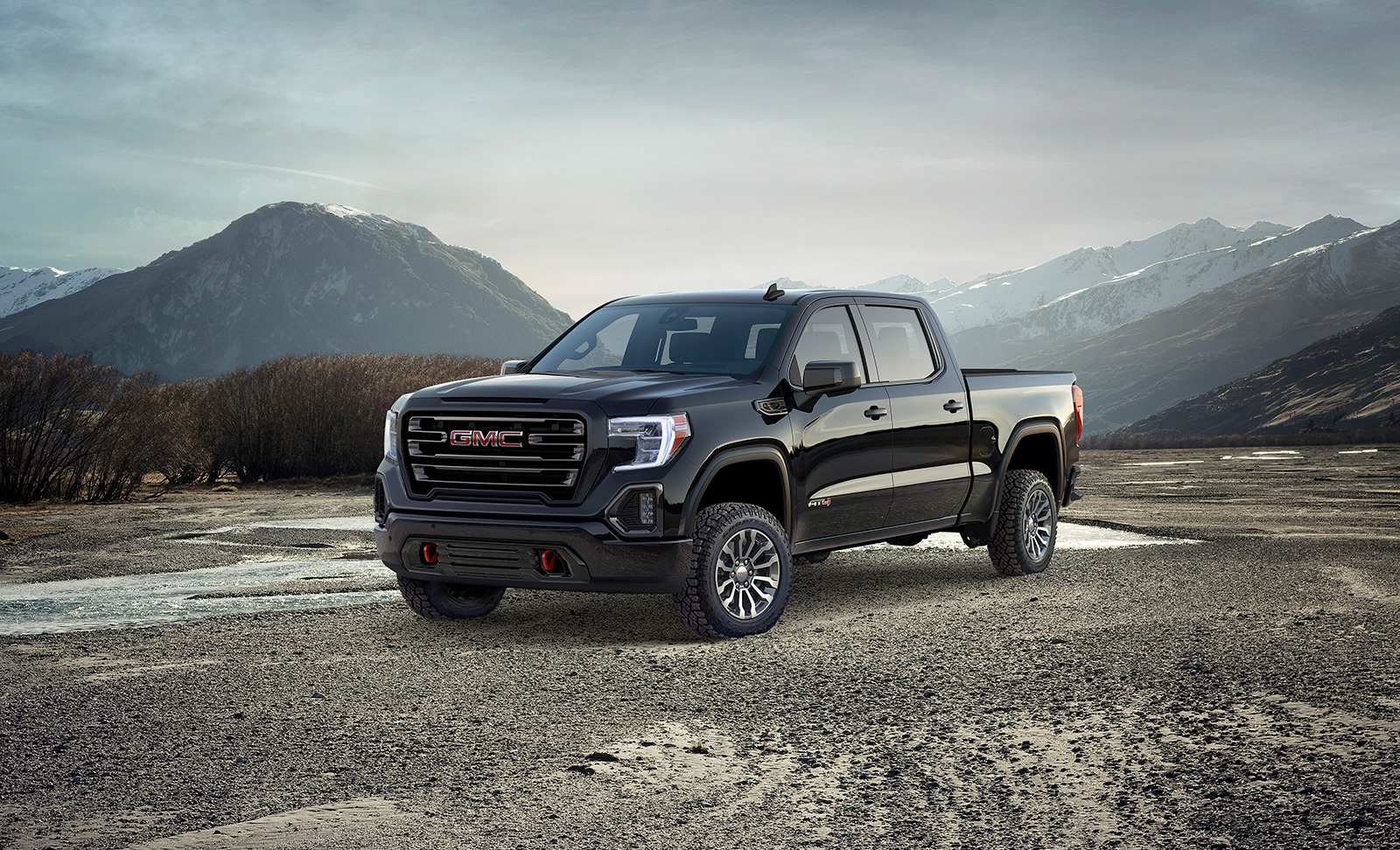 2019 GMC Sierra AT4 Tries to Elevate Off-Roading ...