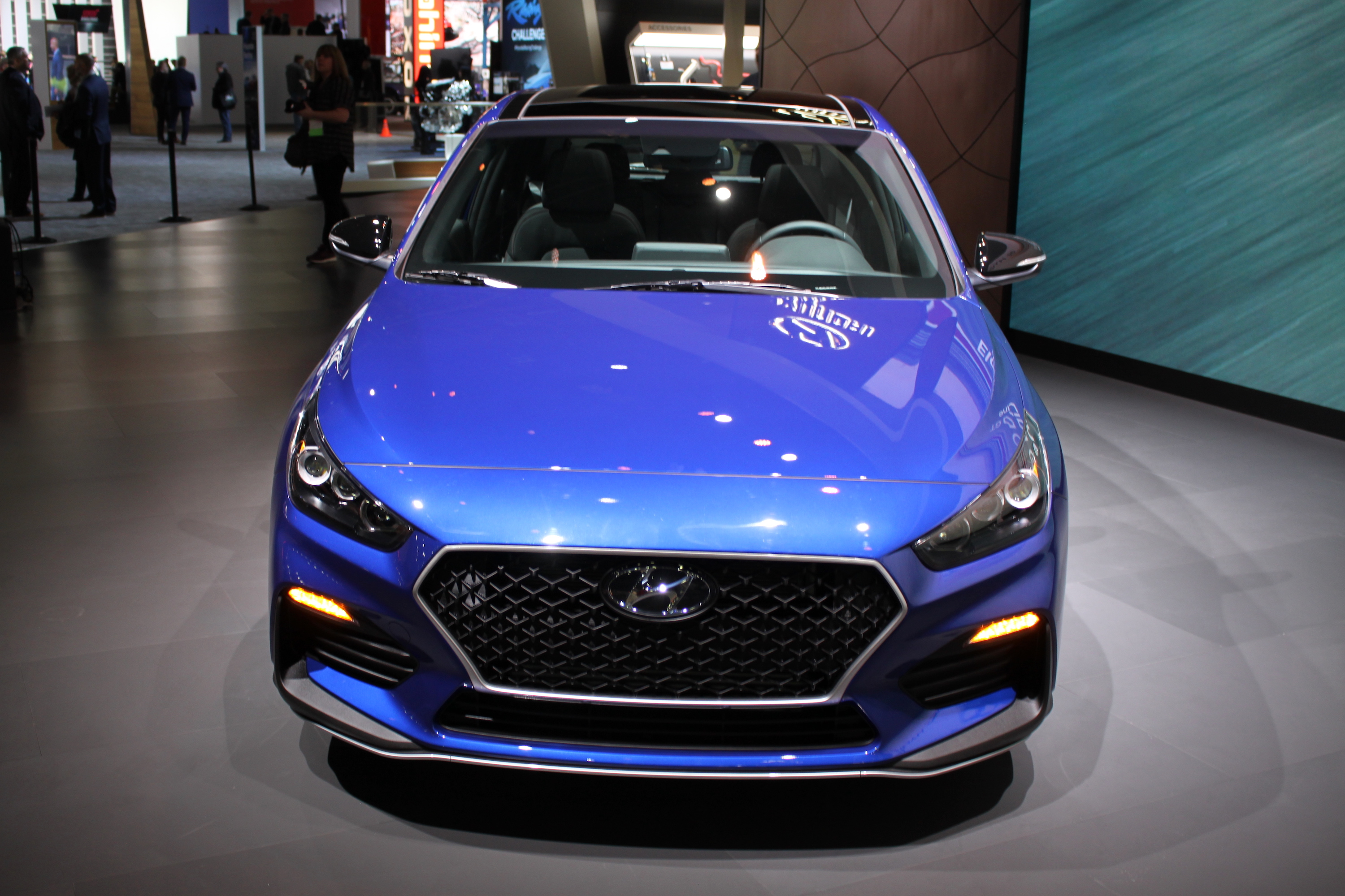 hyundai storms detroit with wild 350-hp veloster n race