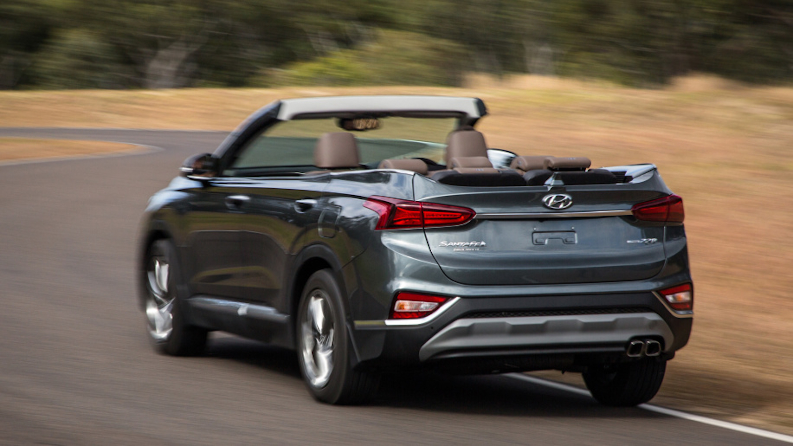 Hyundai Santa Fe Cabriolet Open Air Motoring For You And Six Others