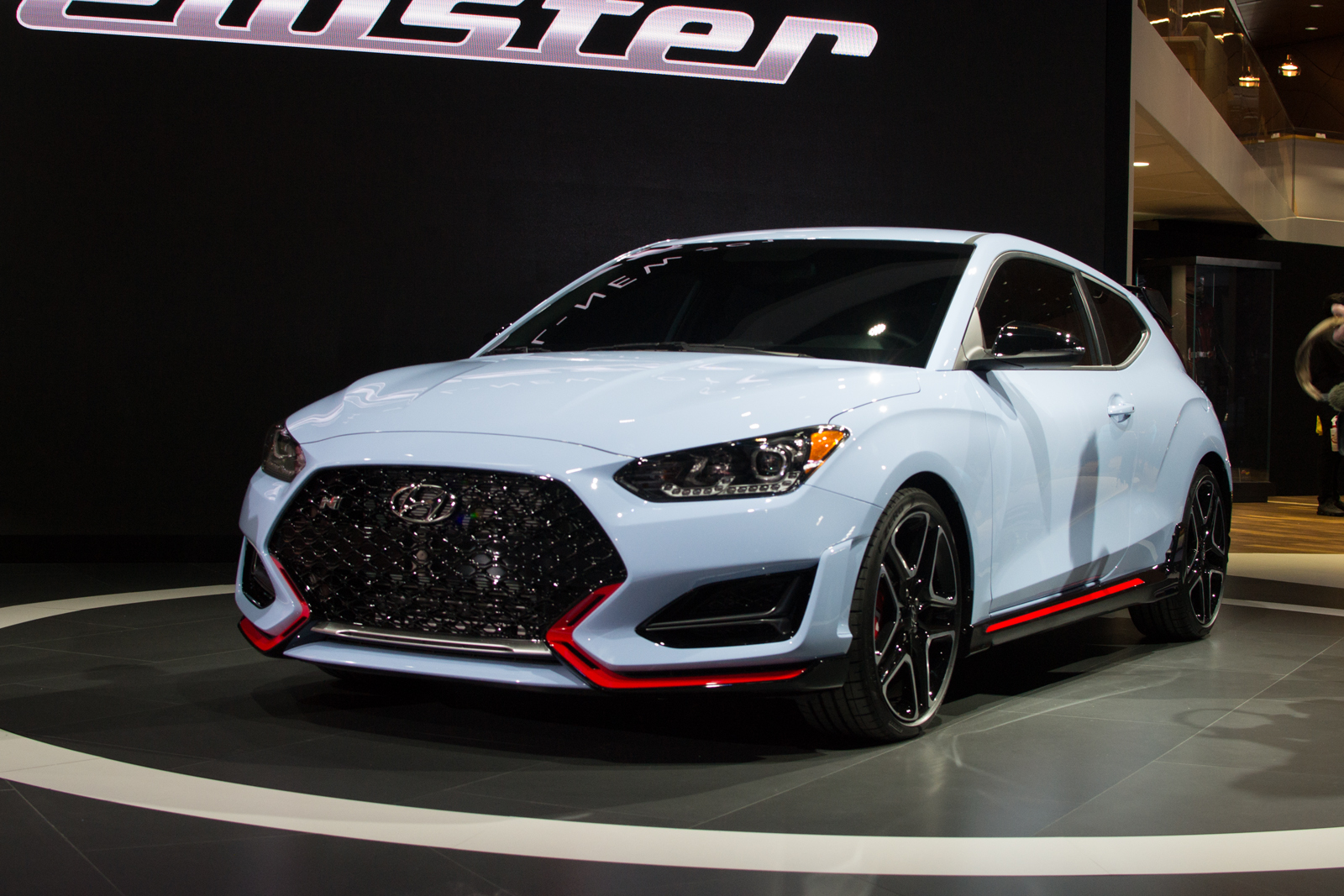 hyundai gets serious about performance with launch of 275 hp veloster n hyundai forum hyundai. Black Bedroom Furniture Sets. Home Design Ideas