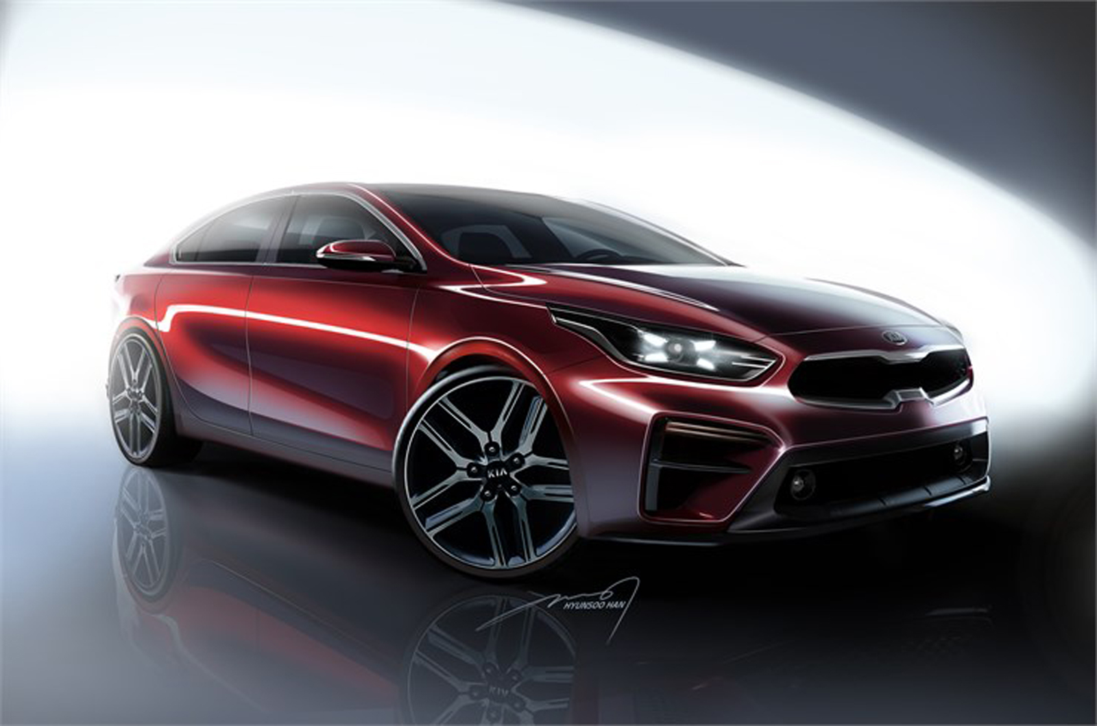the 2019 kia forte sedan will debut in detroit next week news. Black Bedroom Furniture Sets. Home Design Ideas