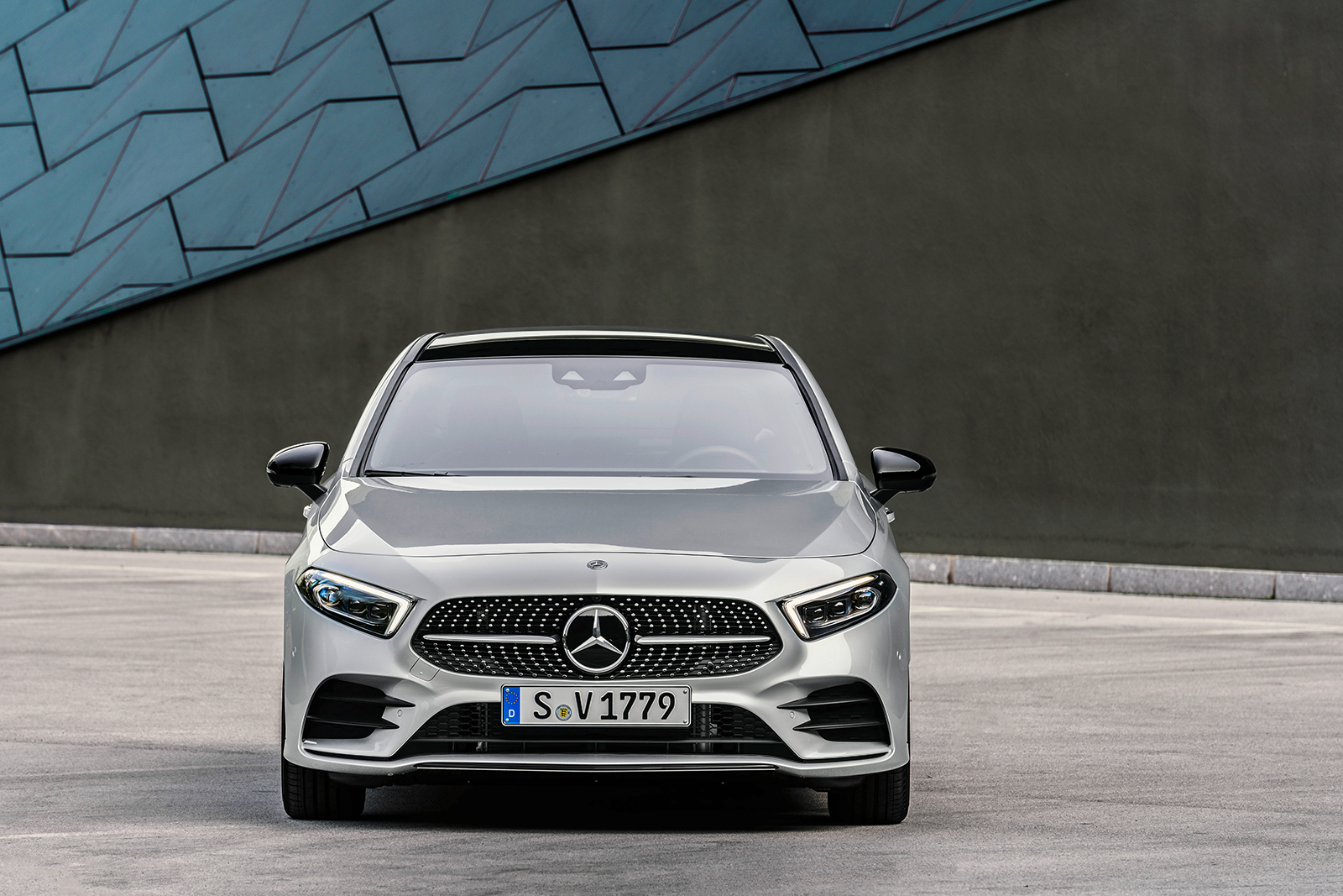 Stylish 2019 Mercedes A Class Sedan Arrives In The Us Late 2018