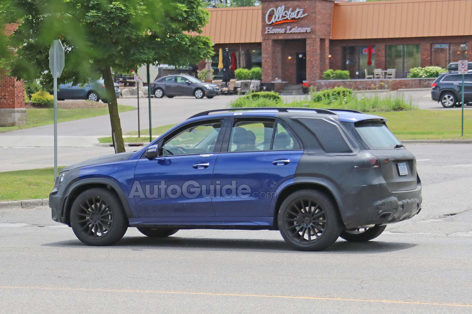 Mercedes Gle Spied 16