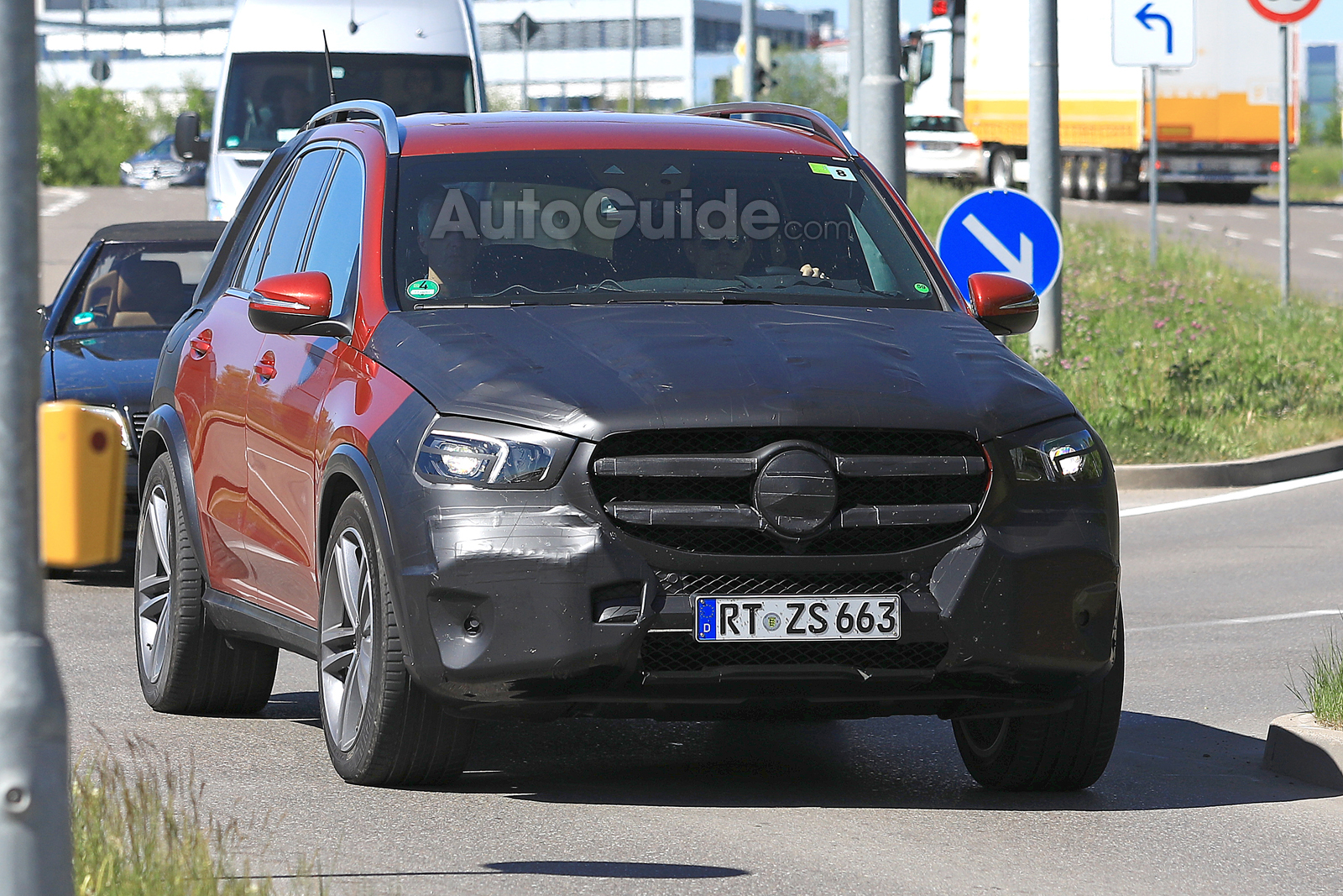 2019 Mercedes Gle Spied Looking Showroom Ready 187 Autoguide