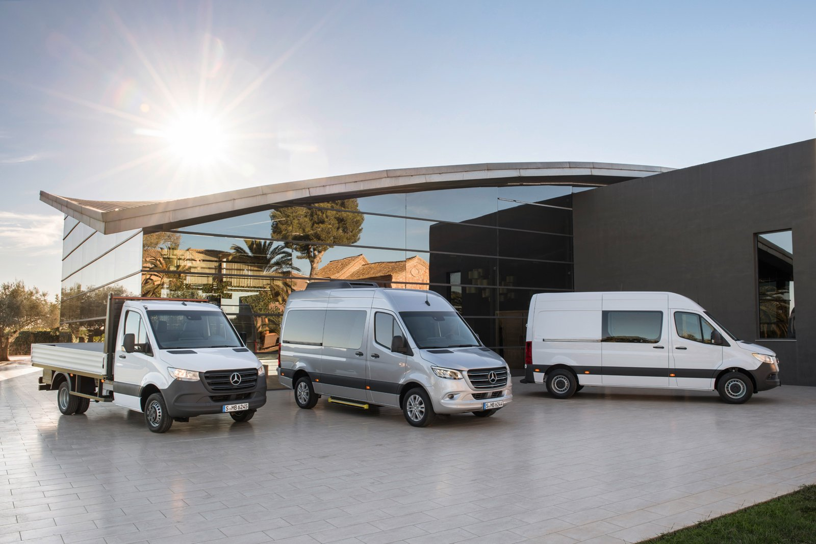 The 2019 mercedes sprinter can be whatever you want it to for New mercedes benz sprinter