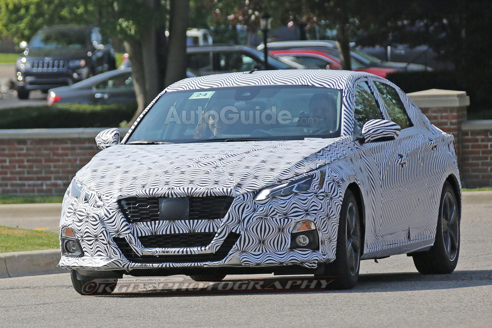 2019 Nissan Altima's New Look Revealed in Spy Photos - Nissan Forums : Nissan Forum