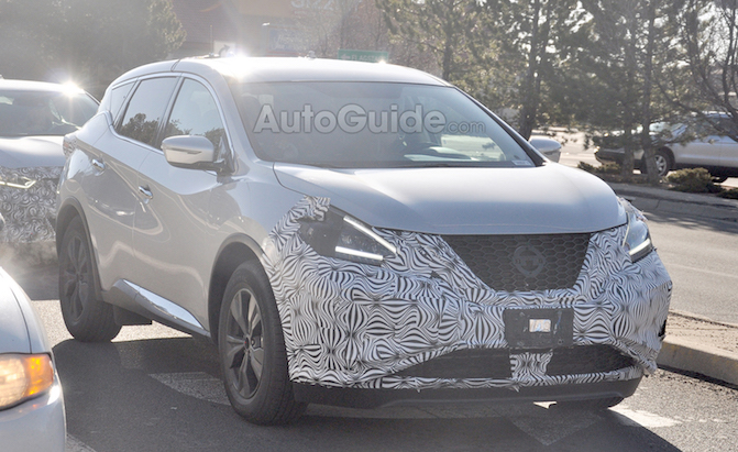 Updated 2019 Nissan Murano Spied For the First Time ...