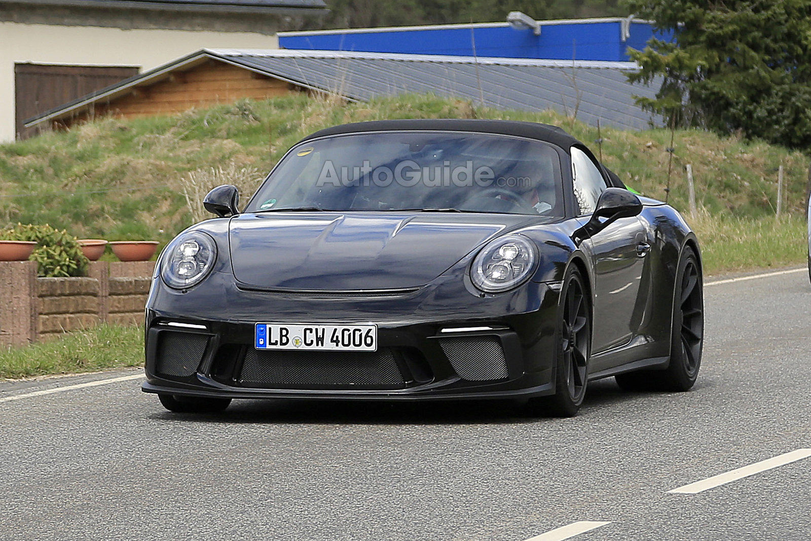 Proof A New Porsche 911 Speedster Is On The Way