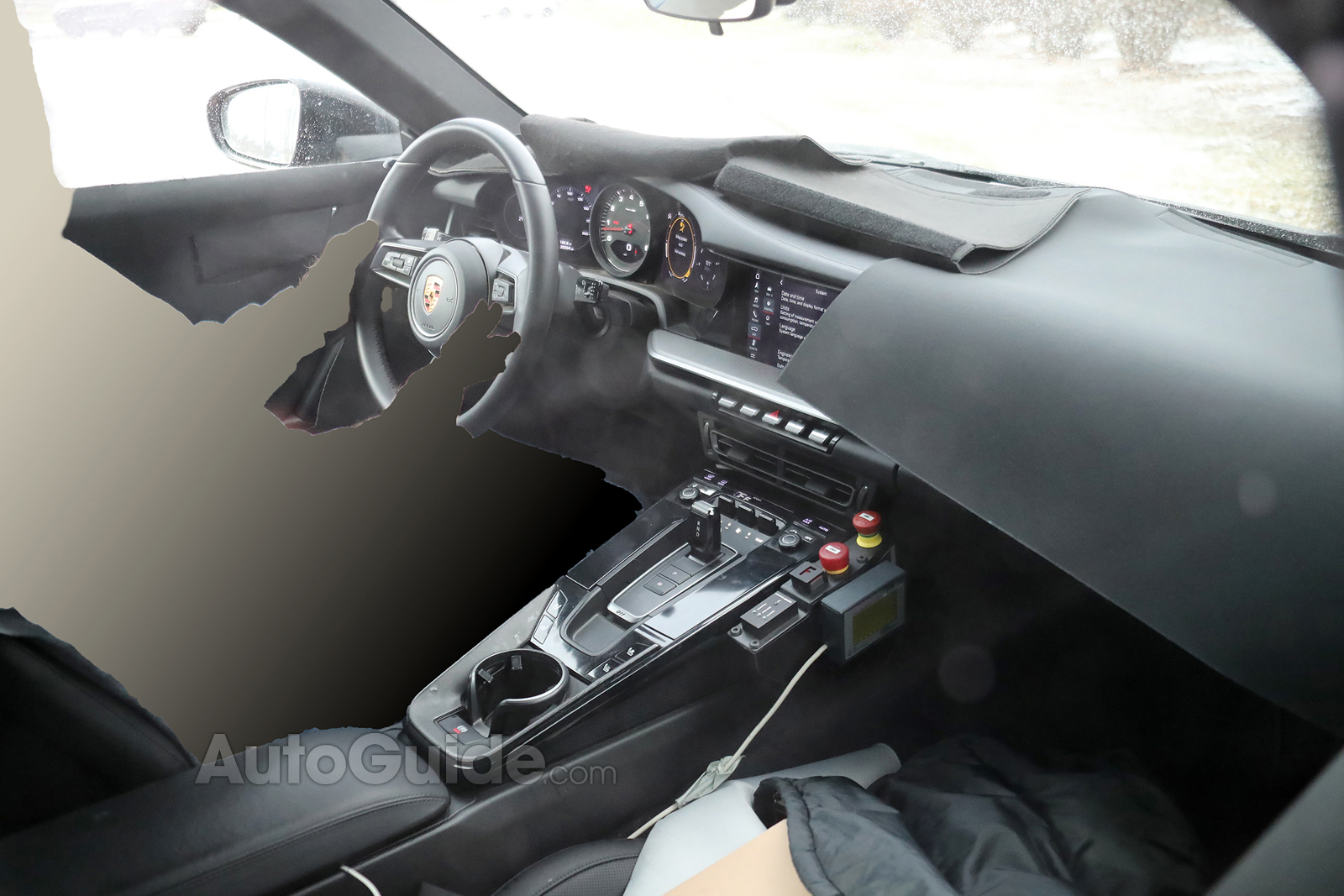 Check Out The Interior Of The New 2019 Porsche 911
