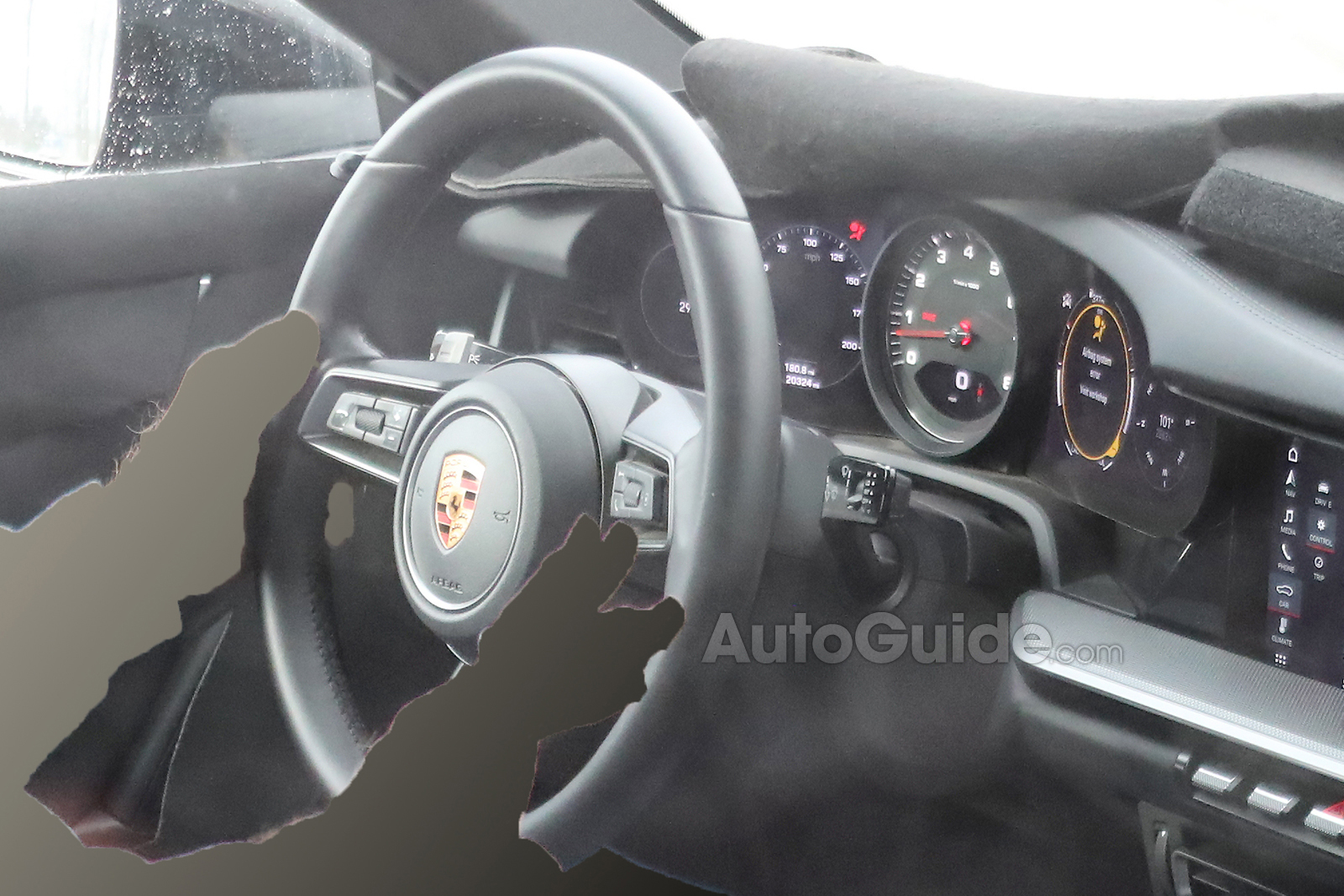 Check Out The Interior Of The New 2019 Porsche 911 Autoguide Com News