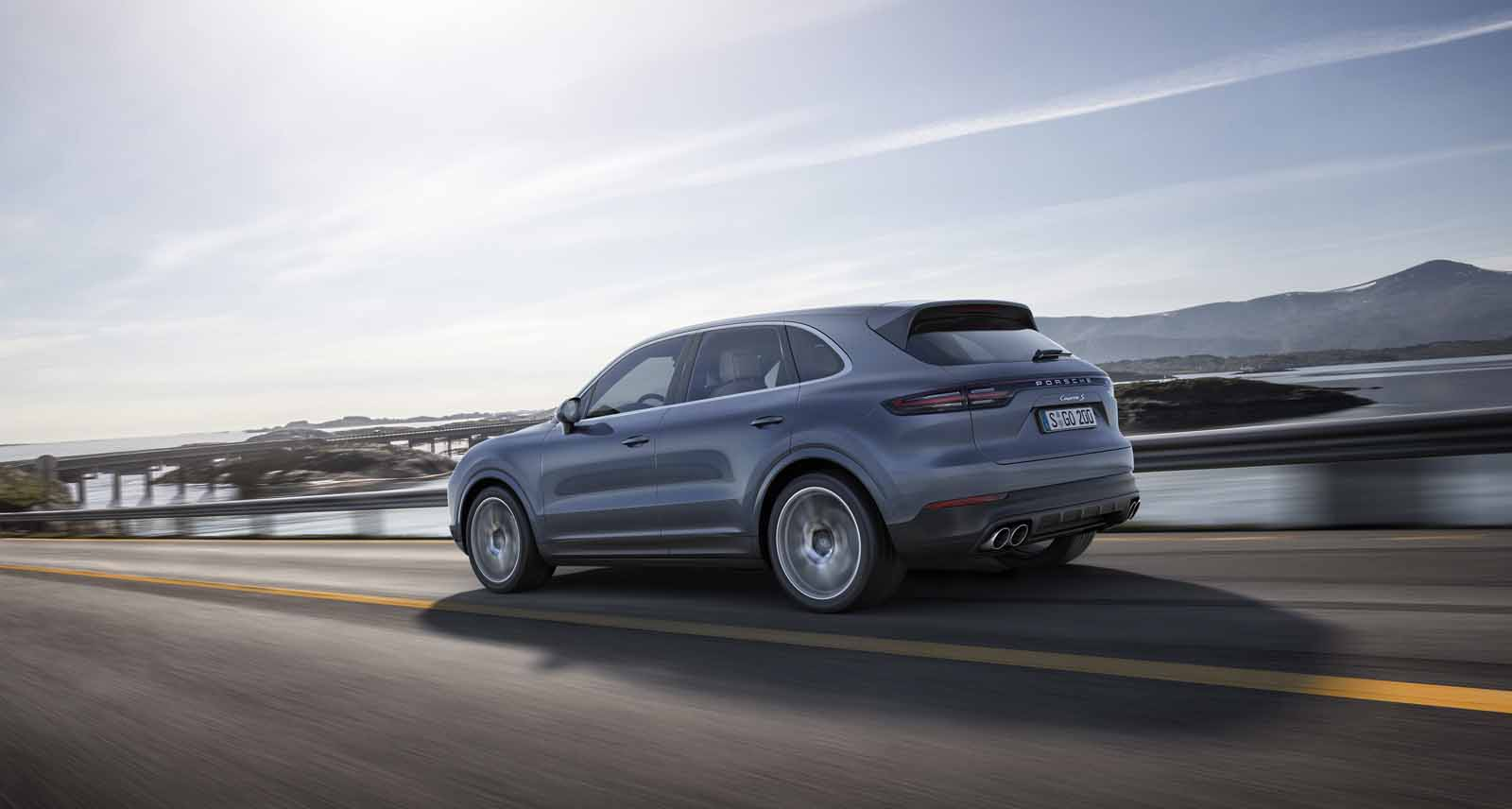 How The 2019 Porsche Cayenne Became A Legit Drift Car