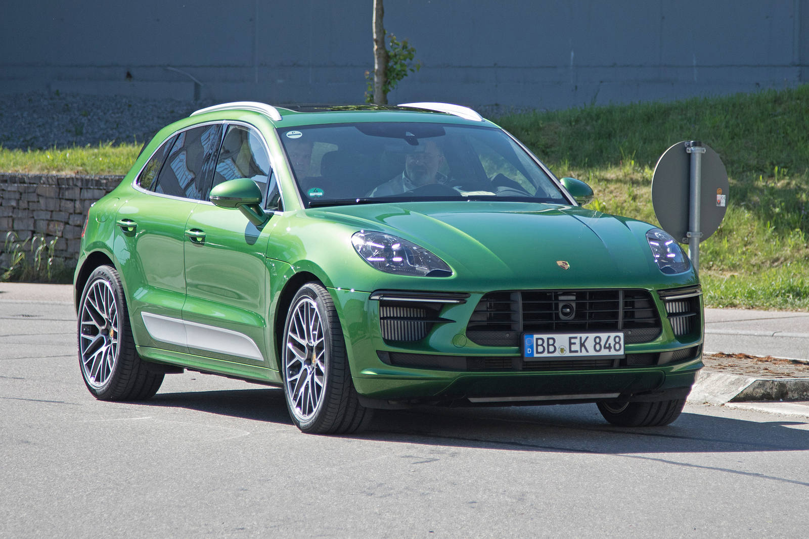 Headlights For Cars >> Porsche Macan Getting Updated Looks for 2019 » AutoGuide.com News