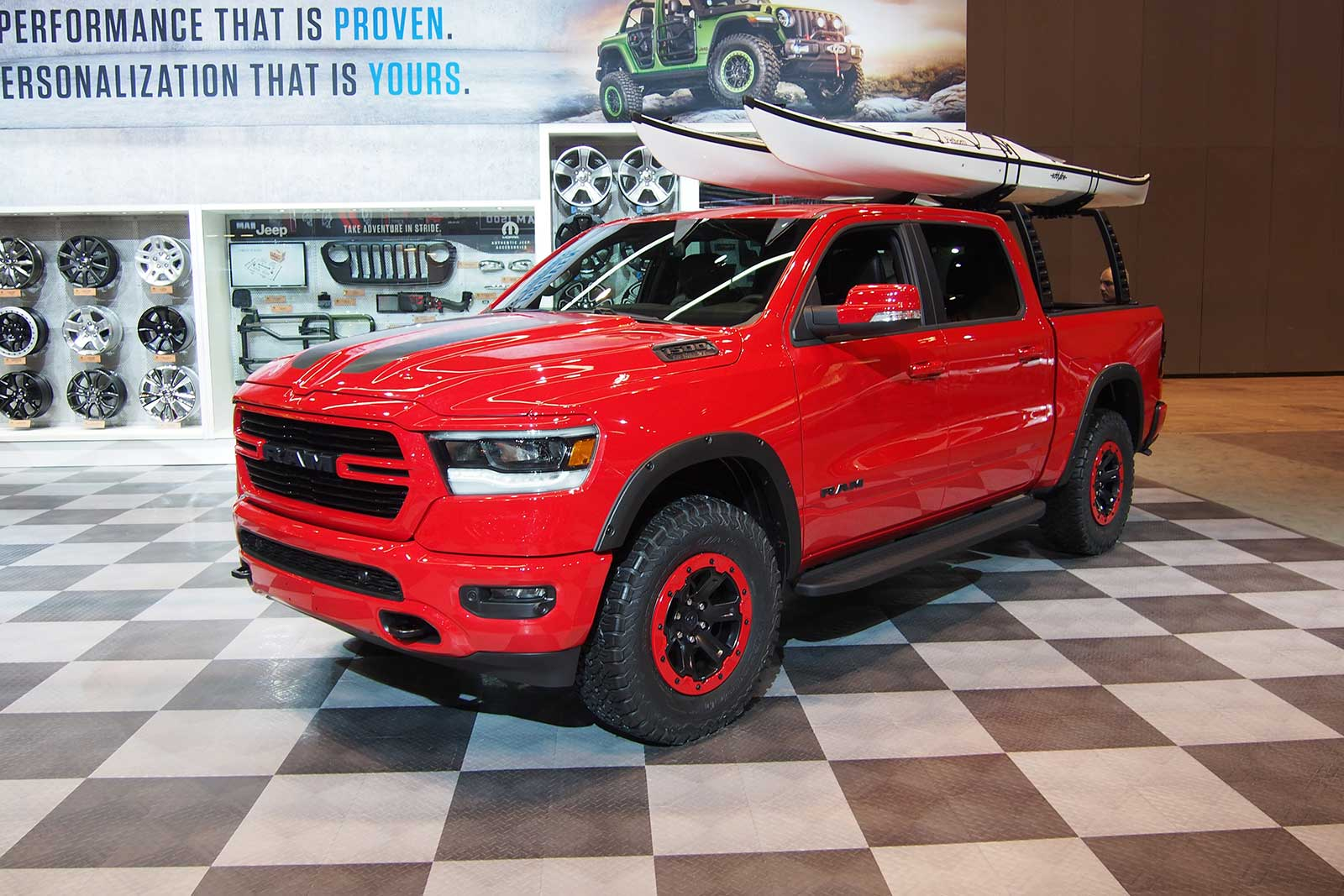 2019 Ram 1500 Gussied Up With 200-Plus Mopar Parts ...