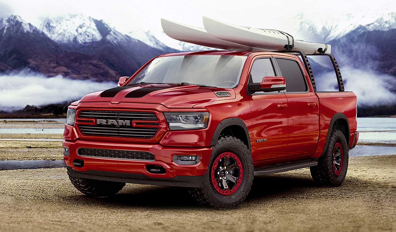 2019 Ram 1500 Gussied Up With 200-Plus Mopar Parts - Dodge ...