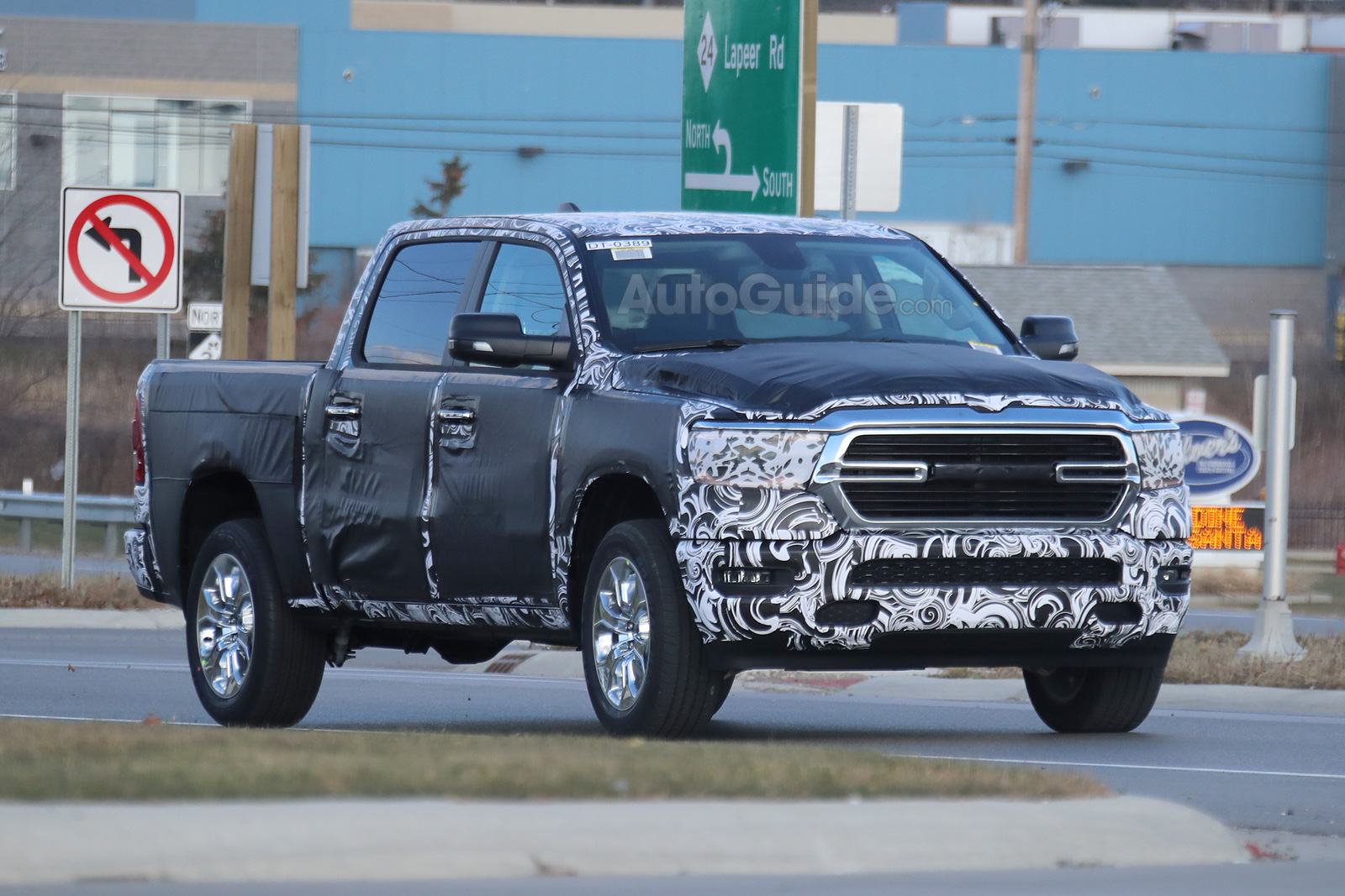 2019 Ram 1500 Reveals More Details in Latest Spy Photos ...