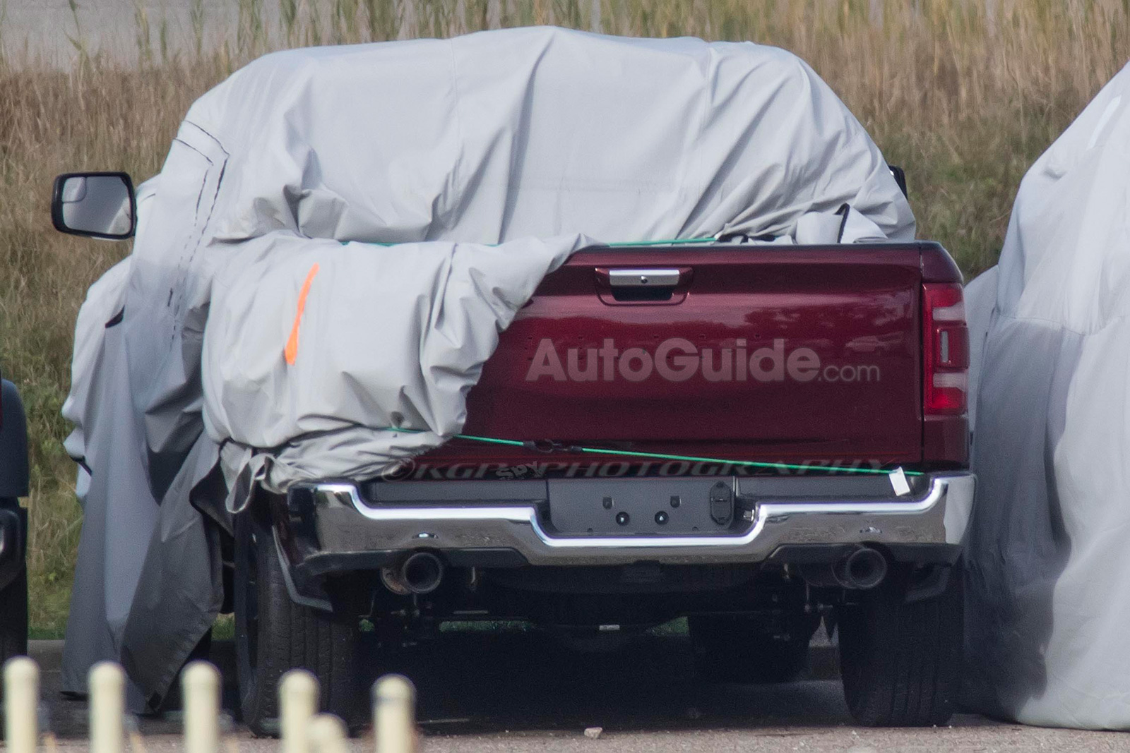 2019 Ram 1500 Spy Photos 09