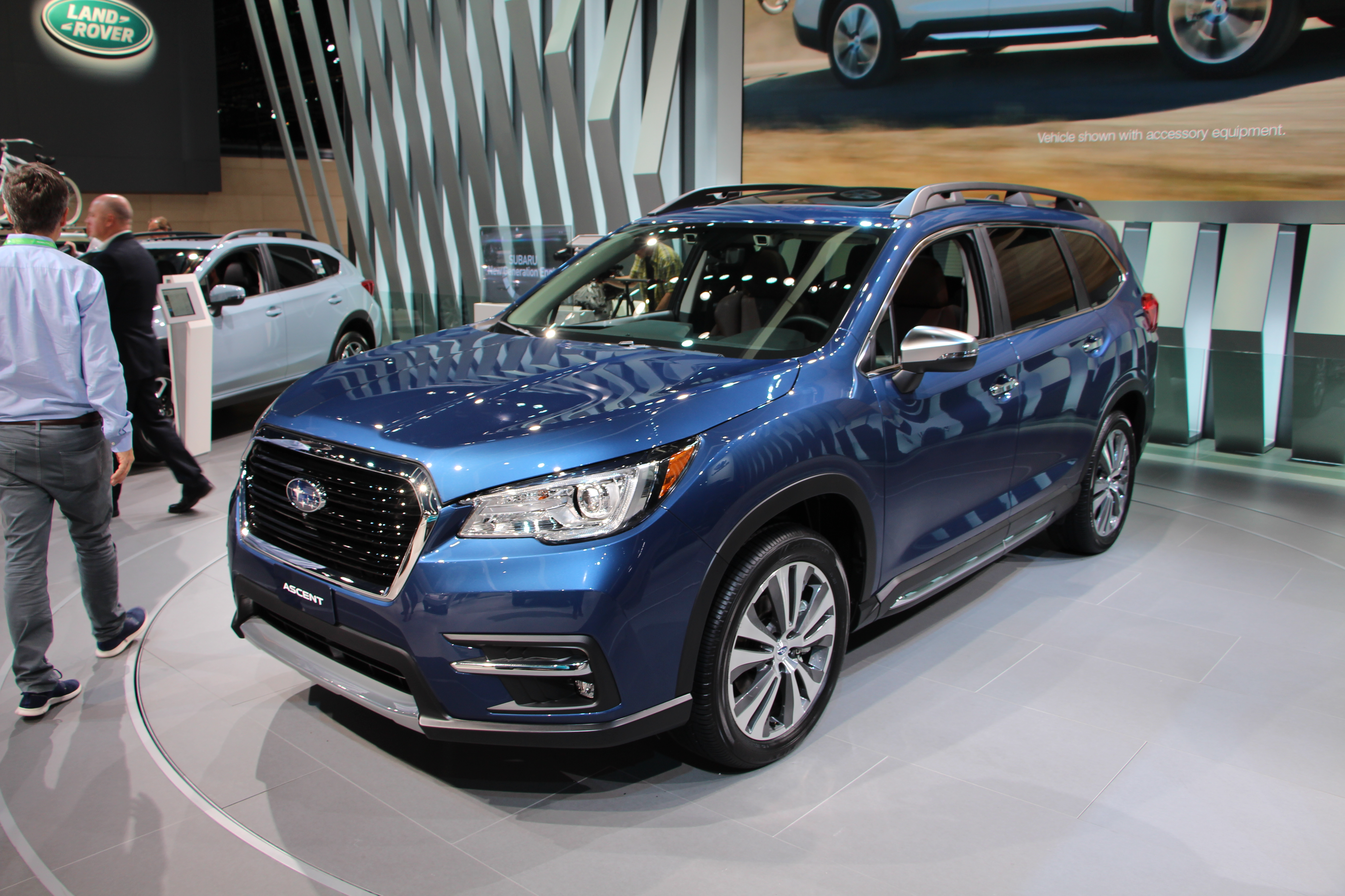 the 2019 subaru ascent is made for americans and their american stuff news. Black Bedroom Furniture Sets. Home Design Ideas
