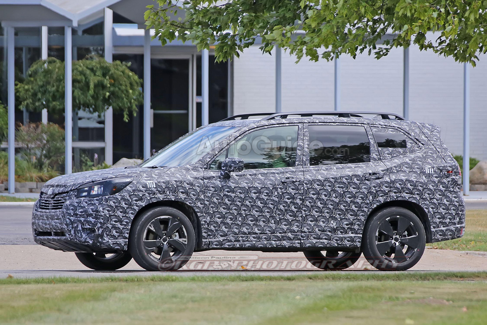2019 Subaru Forester Spied Testing On Public Roads Autoguide Com News