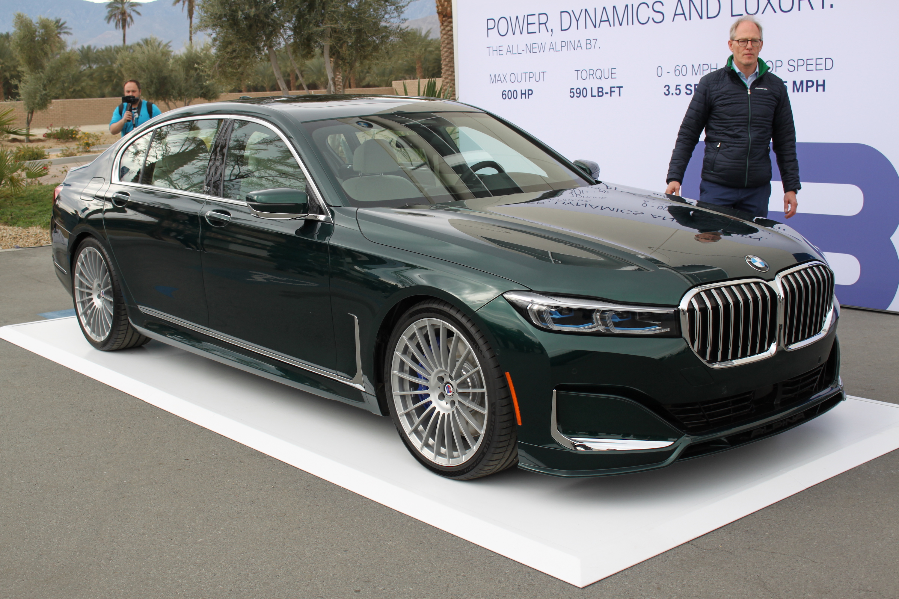 2020 Alpina B7 is an Exclusive 600-HP Luxo-Barge » AutoGuide