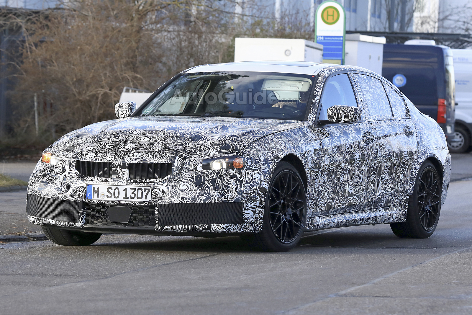 Next Gen Bmw M3 Smiles For The Camera Ahead Of 2019 Debut