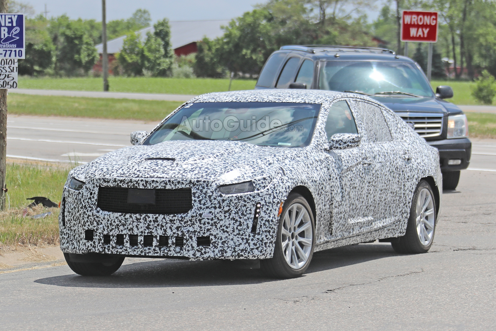 Cadillac CT5 Spied Looking Ready to Replace ATS and CTS » AutoGuide.com News