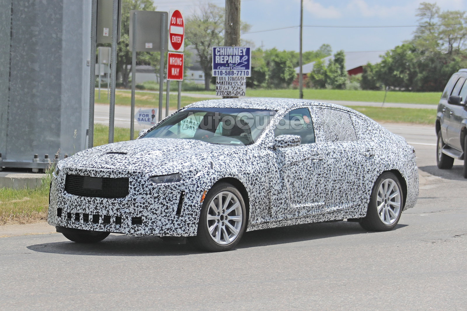 Cadillac-CT5-Spied-7