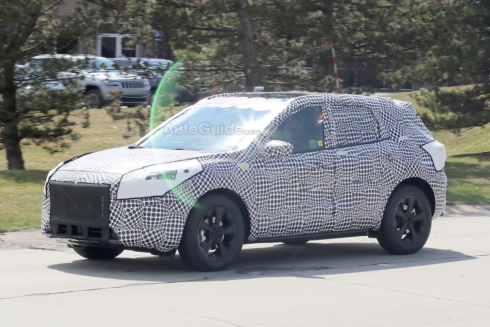 Ford Escape Spied