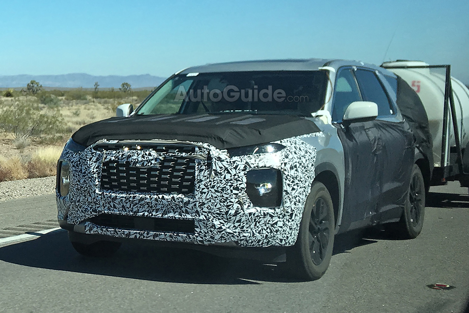 2020 Hyundai Palisade Spied Ahead of Next Year's Debut ...