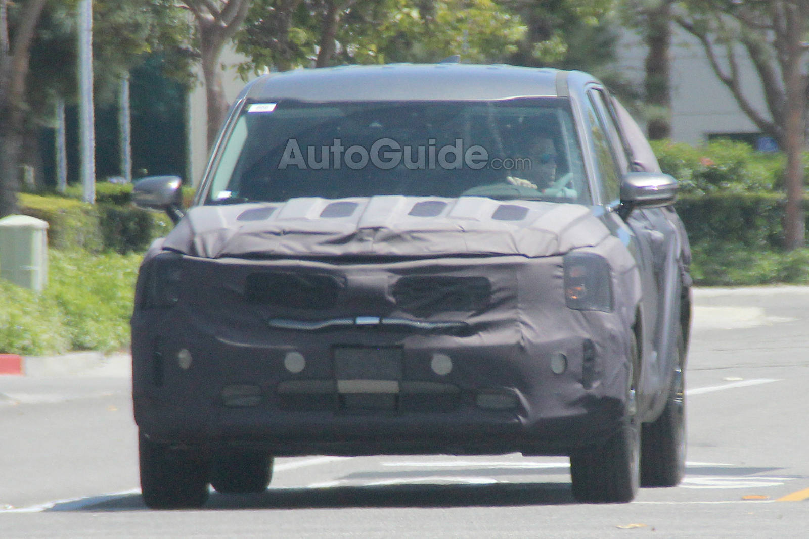2020 Kia Telluride Spied Looking Nearly Production Ready