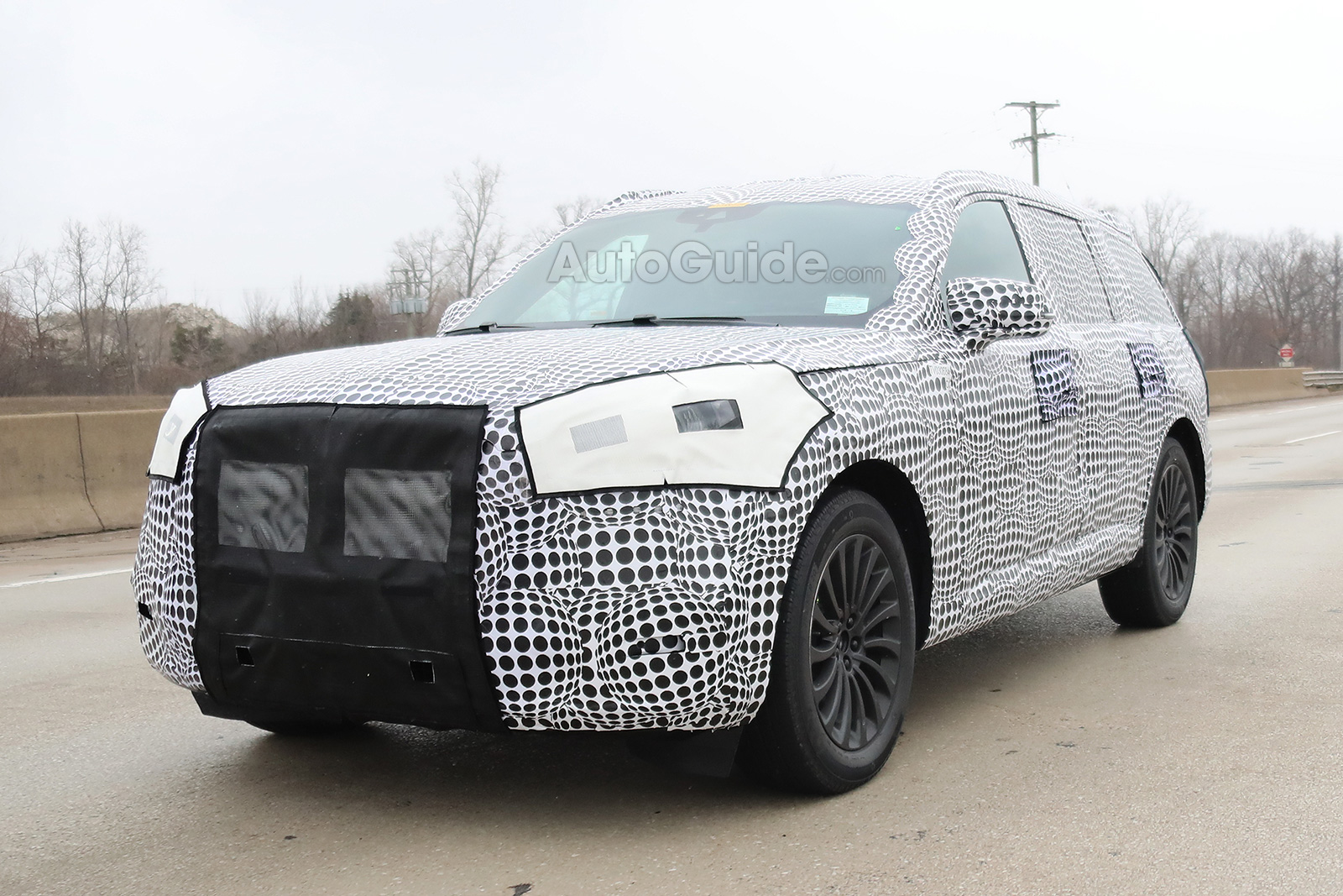 Production 2020 Lincoln Aviator Spied Testing Autoguide Com News