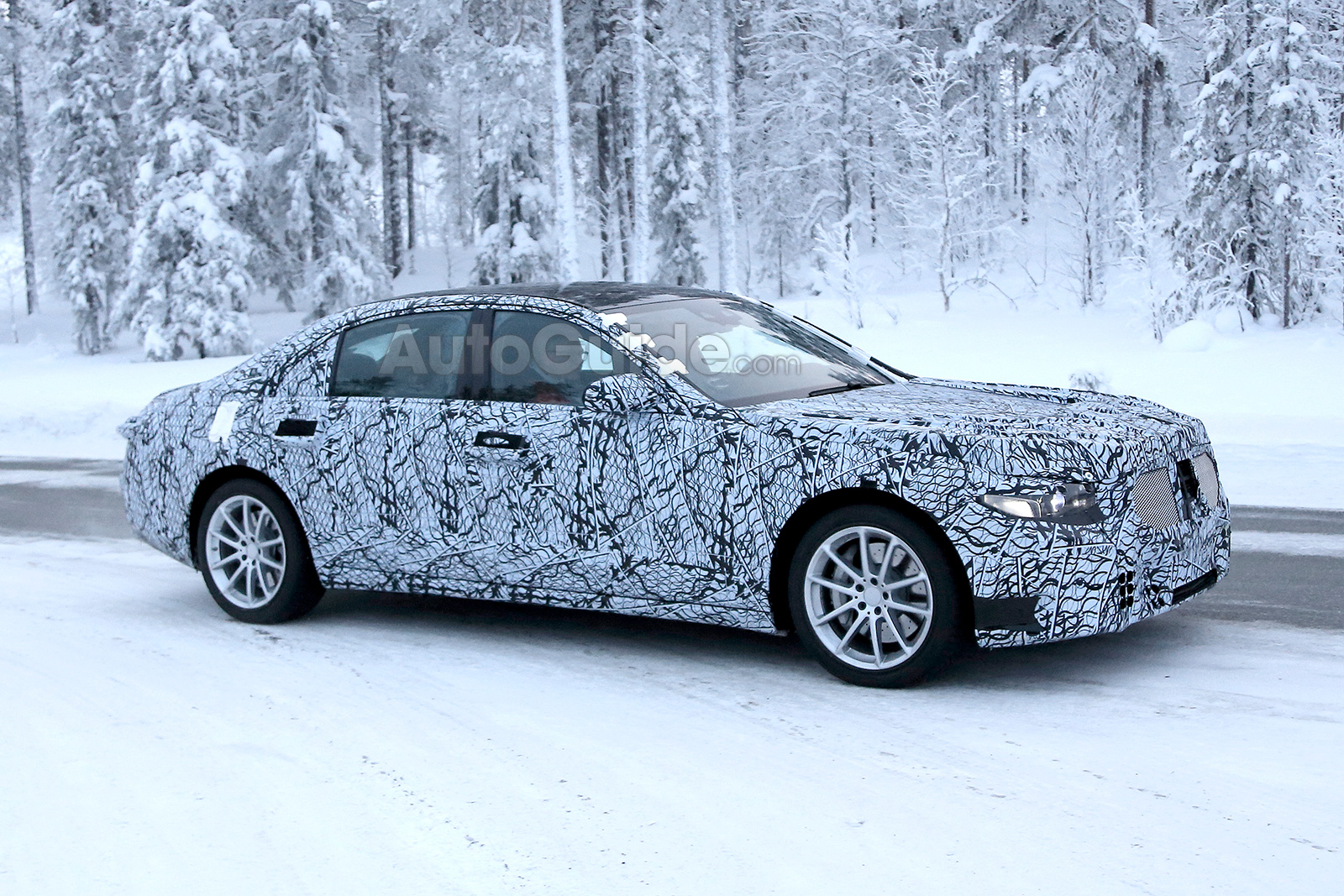 2021 Mercedes-Benz S-Class Breaks Cover While Cold Weather Testing ...