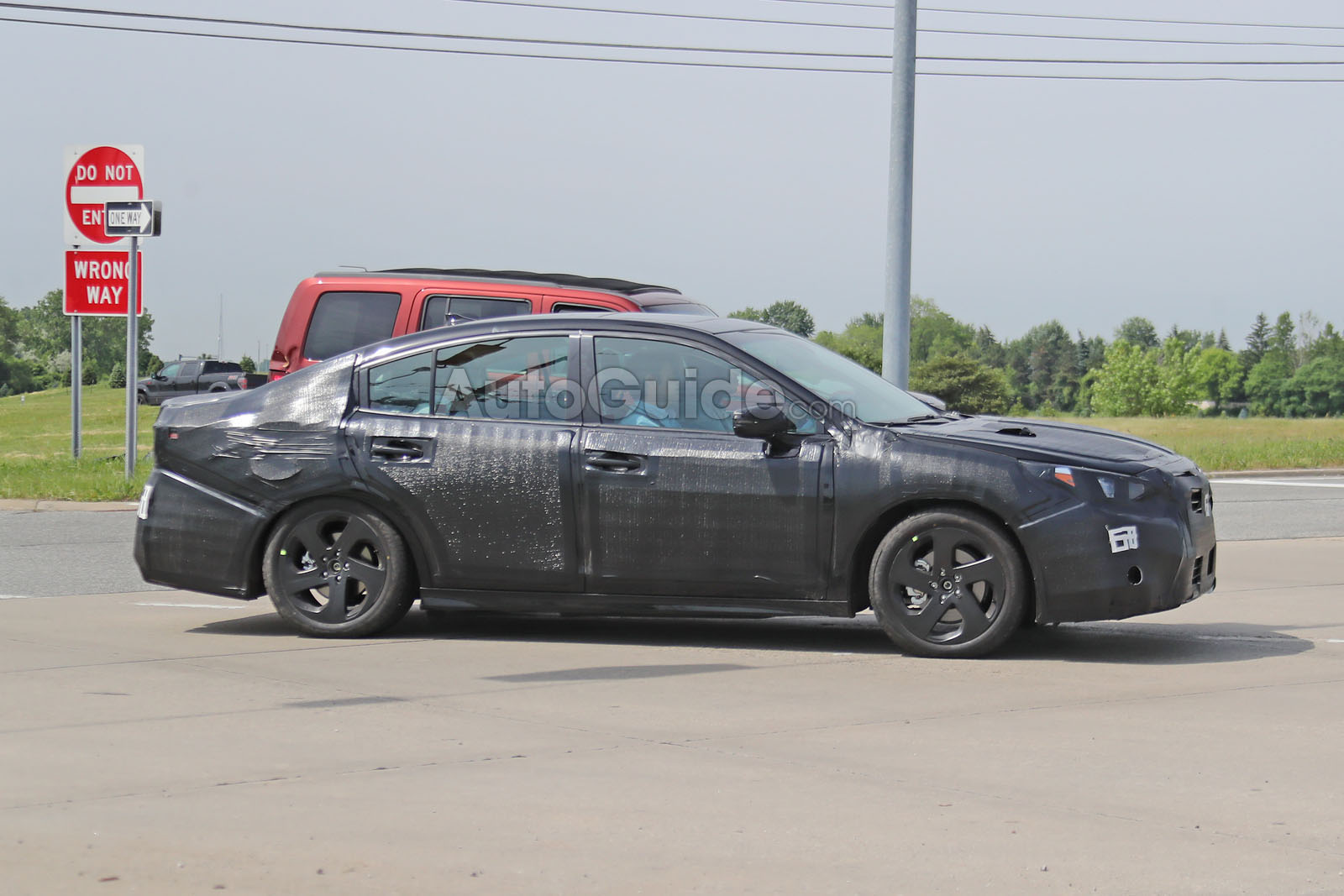 2020 Subaru Legacy Spied Looking More Chiseled Autoguide Com News