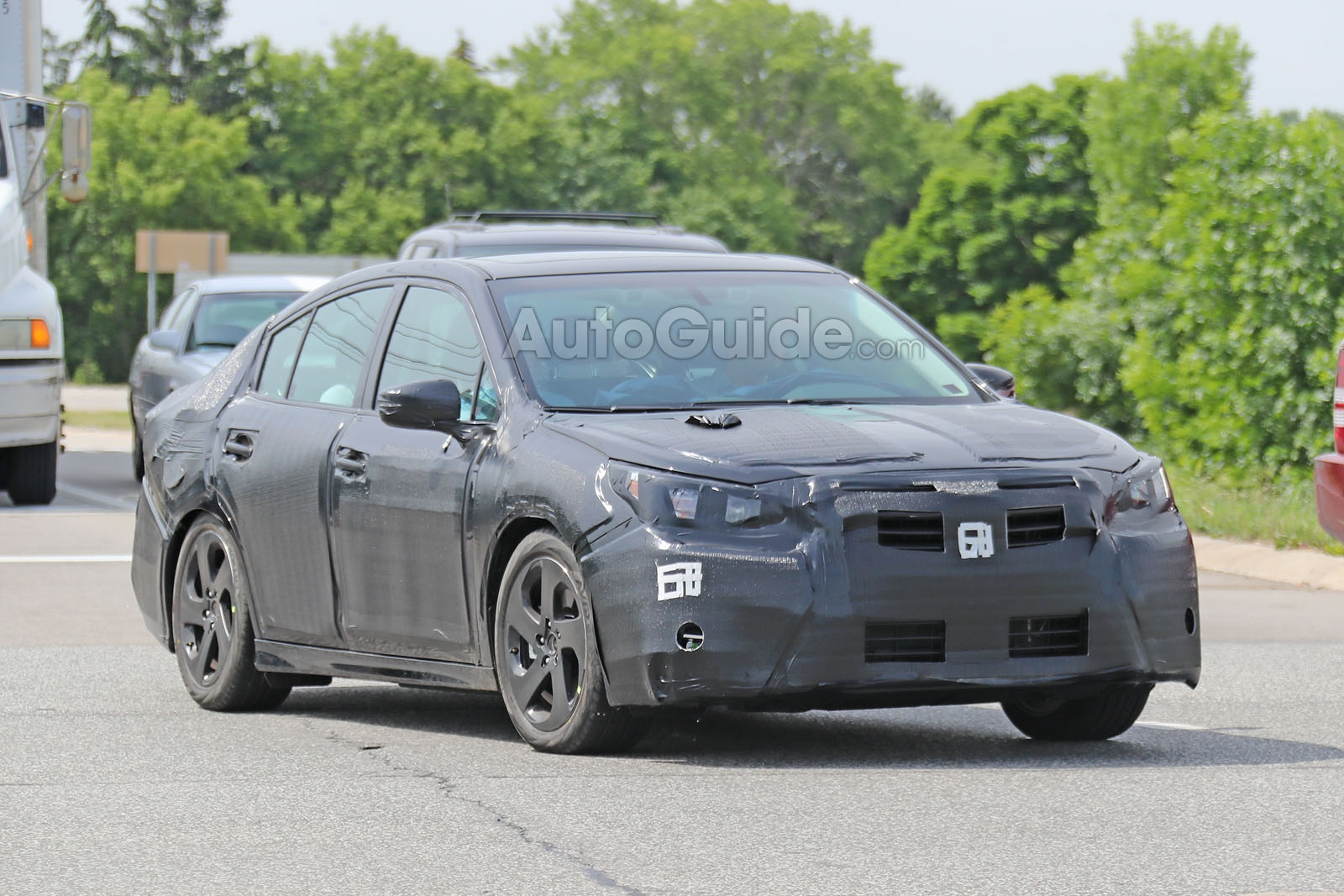 Metro Auto Parts >> 2020 Subaru Legacy Spied Looking More Chiseled » AutoGuide ...