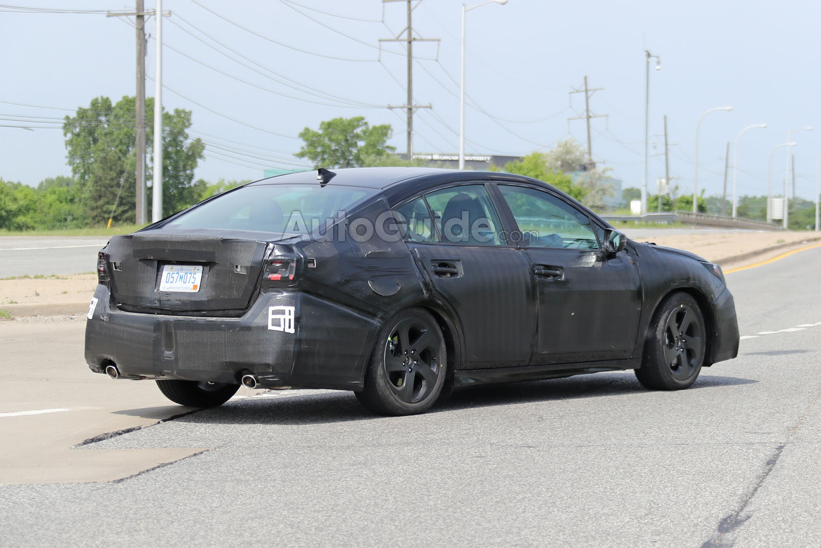 2020 Subaru Legacy Spied Looking More Chiseled 187 Autoguide