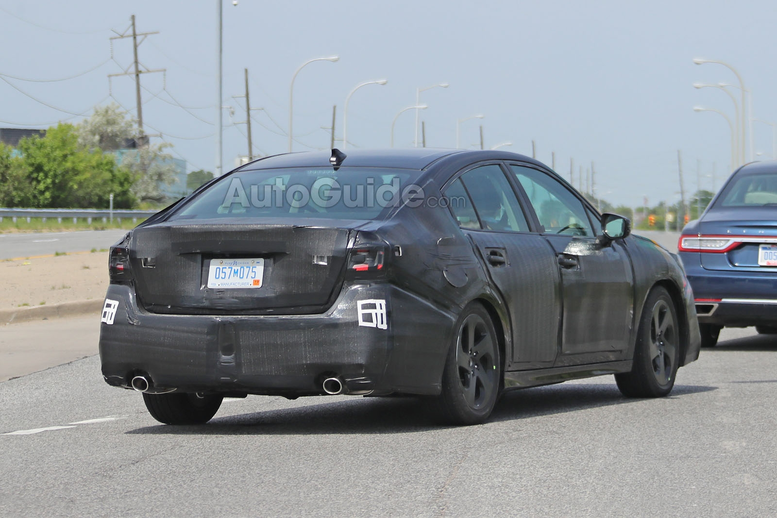 2020 Subaru Legacy Spied Looking More Chiseled » AutoGuide ...