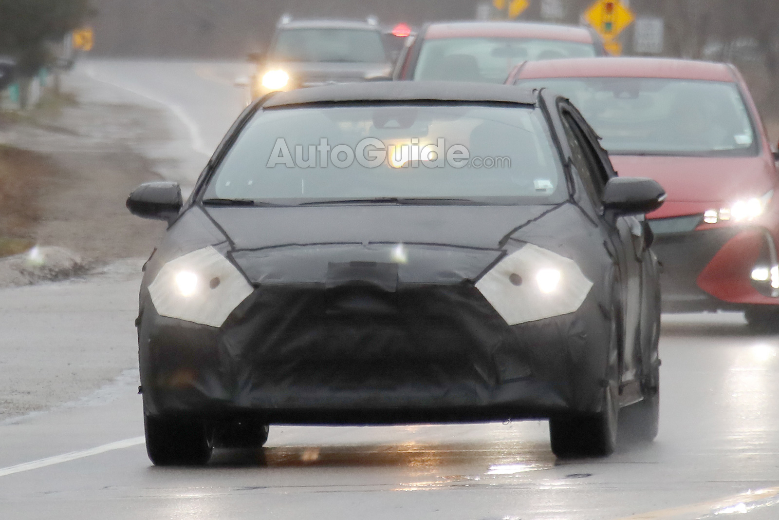 2020 Toyota Corolla Spied Testing for the First Time » AutoGuide.com News