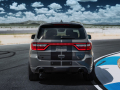 Dodge Durango SRT Hellcat: The exhaust system has been tuned to deliver the throaty, aggressive sound that lets bystanders know this three-row muscle car is something special and distinctly Dodge