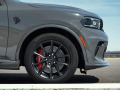 Dodge Durango SRT Hellcat: 20-inch-by-10-inch Lights Out wheel available with the SRT Black Package